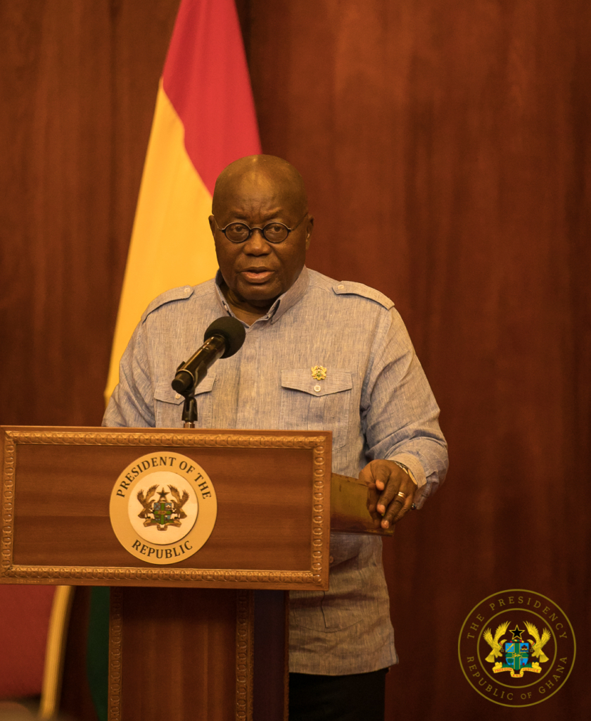 'Ghana is lucky to have you as president at this time' Council of State to Akufo-Addo