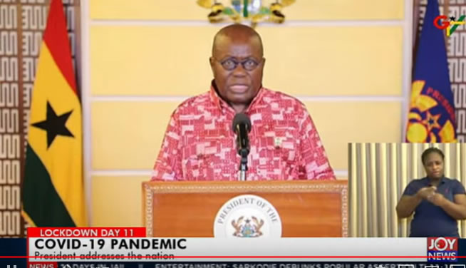 AKufo-Addo 6th address