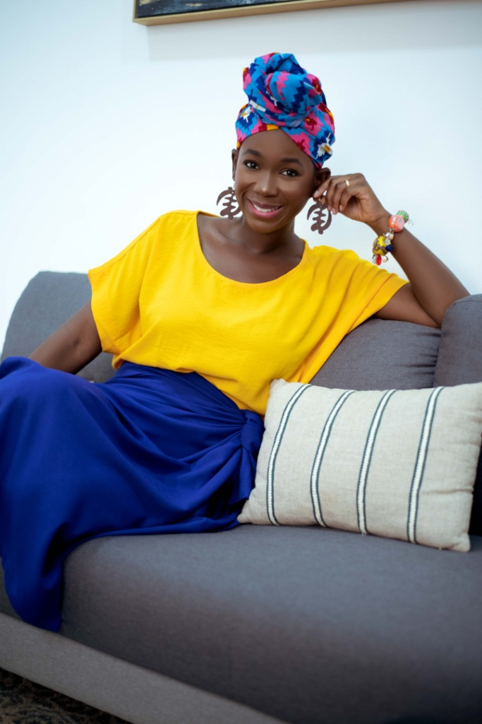 Actress Ama K. Abebrese is Appolonia City's newest star