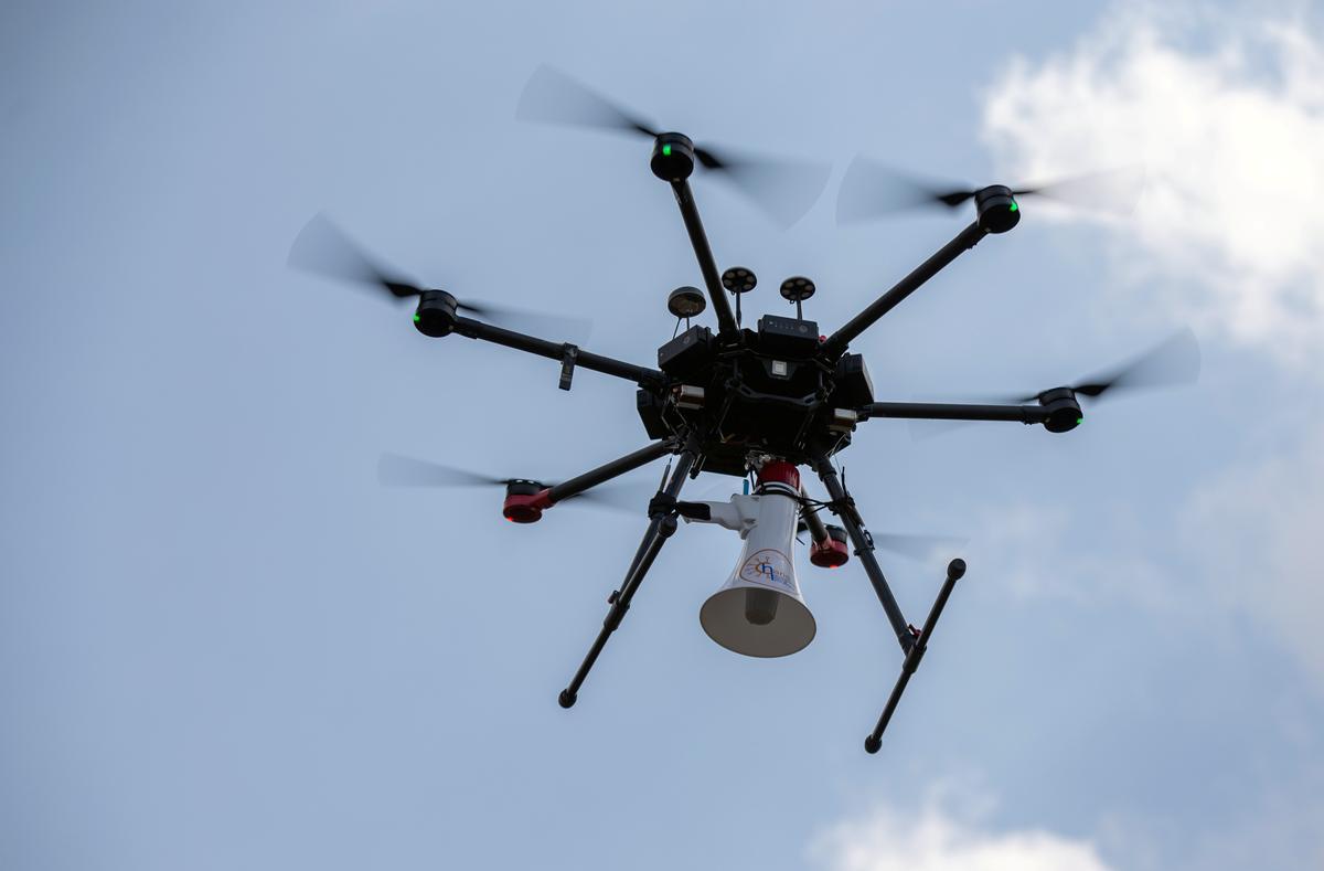 Rwanda uses drones to help catch lockdown transgressors
