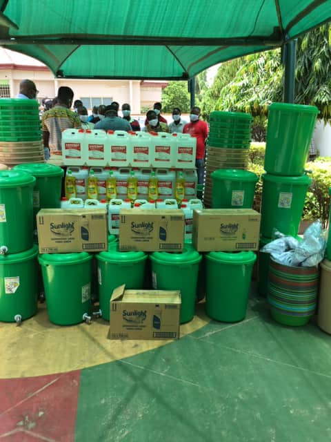 Kojo Bonsu donates to support coronavirus fight in Offinso