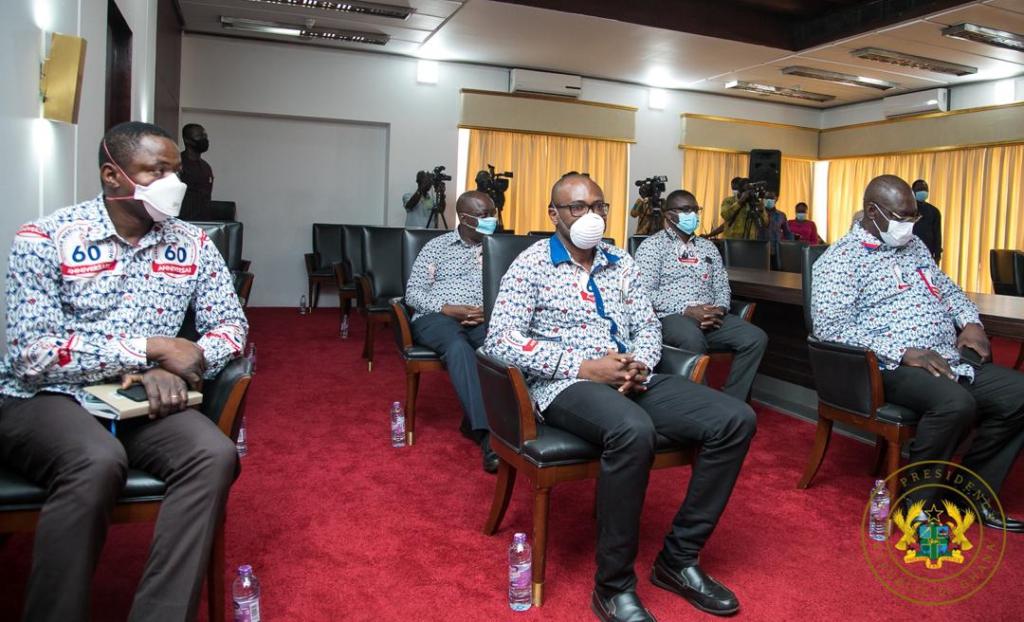 Akufo-Addo meets doctors
