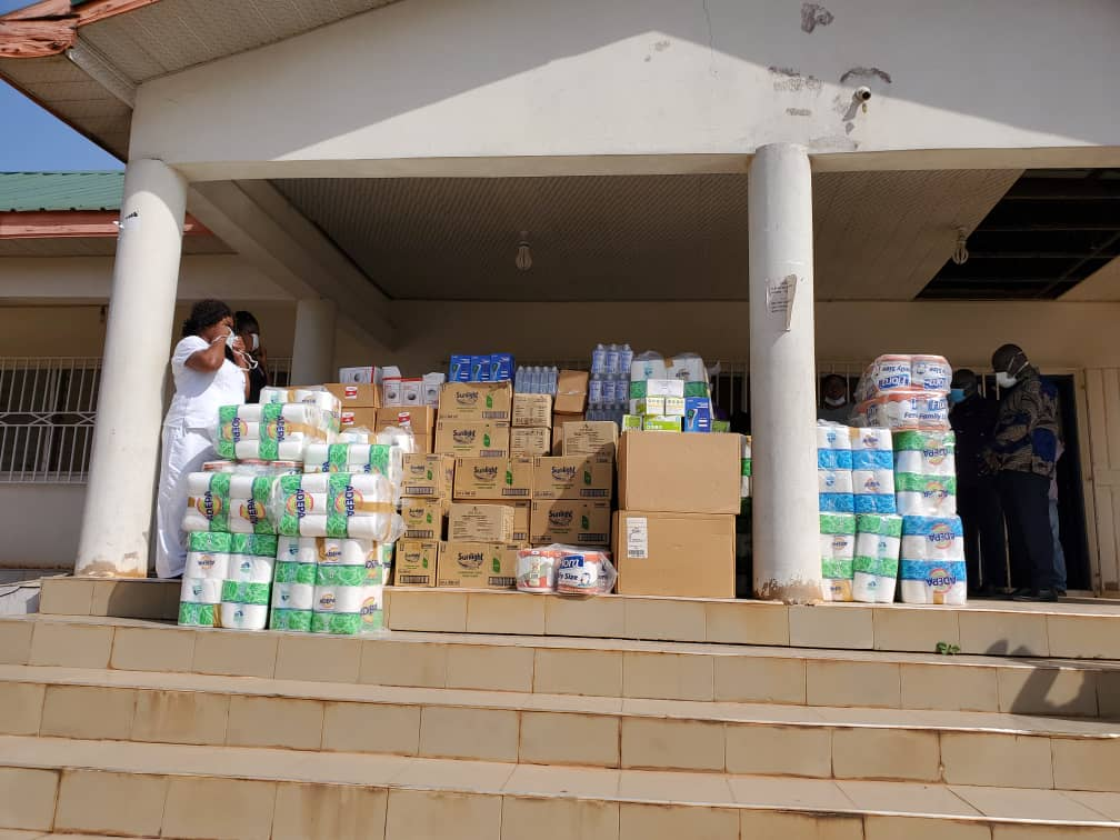 O.B Amoah provides hot meals for the poor in Akuapem South
