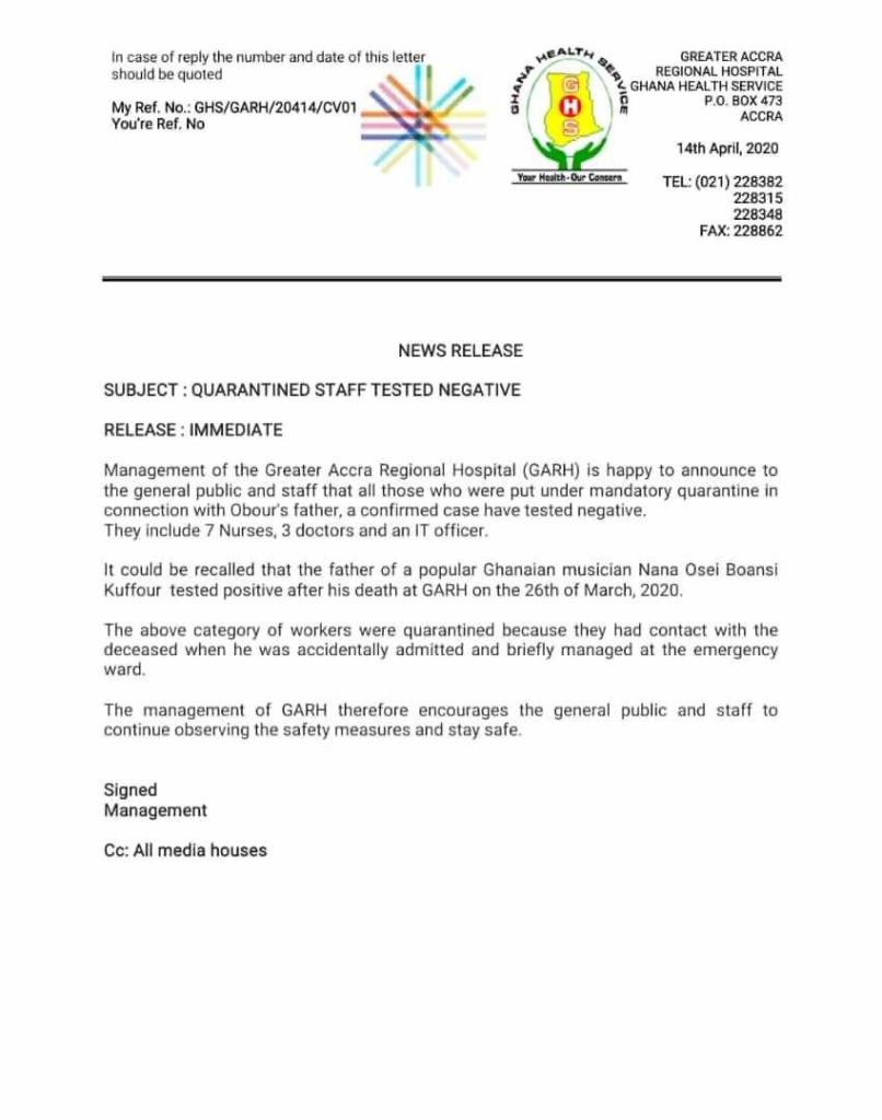 Ridge hospital staff report