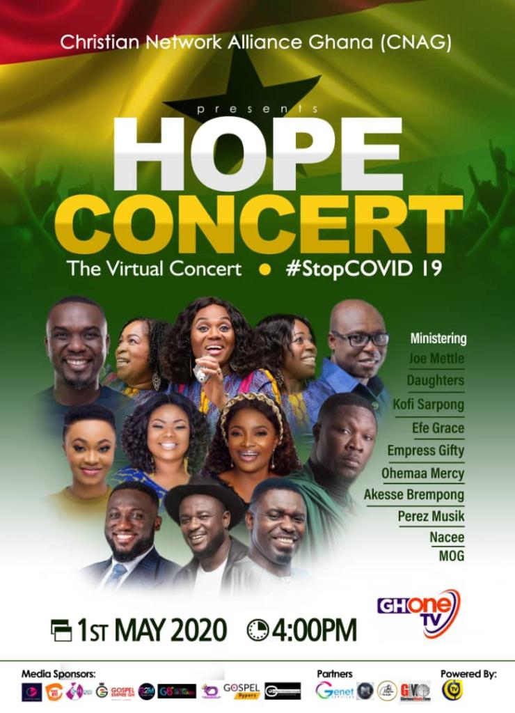 Bill for Hope concert