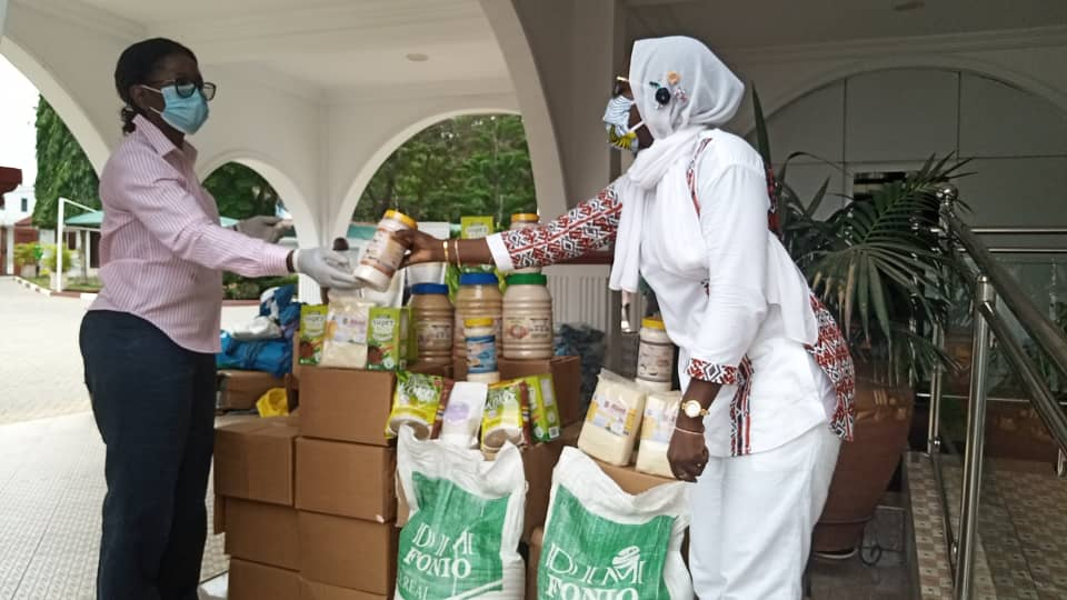 Cereal Processors Association donates to First Lady's office and Rebecca Foundation