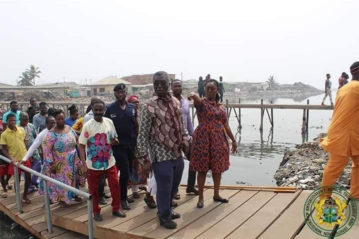 Ursula Owusu's floating bridge that floated away