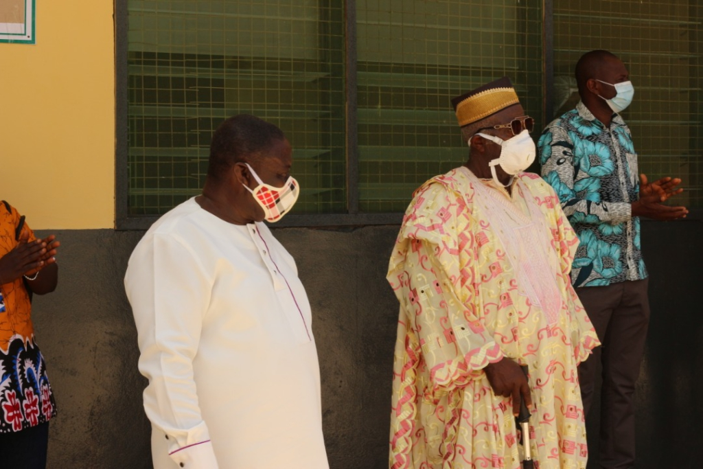 NDC Ahanta West candidate renovates isolation centre for Agona Health Centre 5