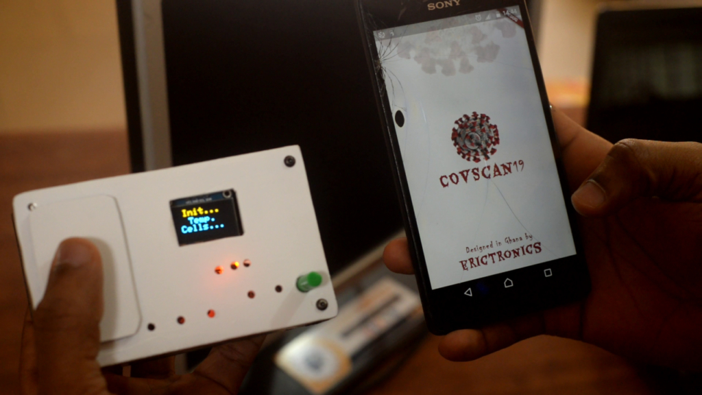 Ghanaian develops smart thermometer