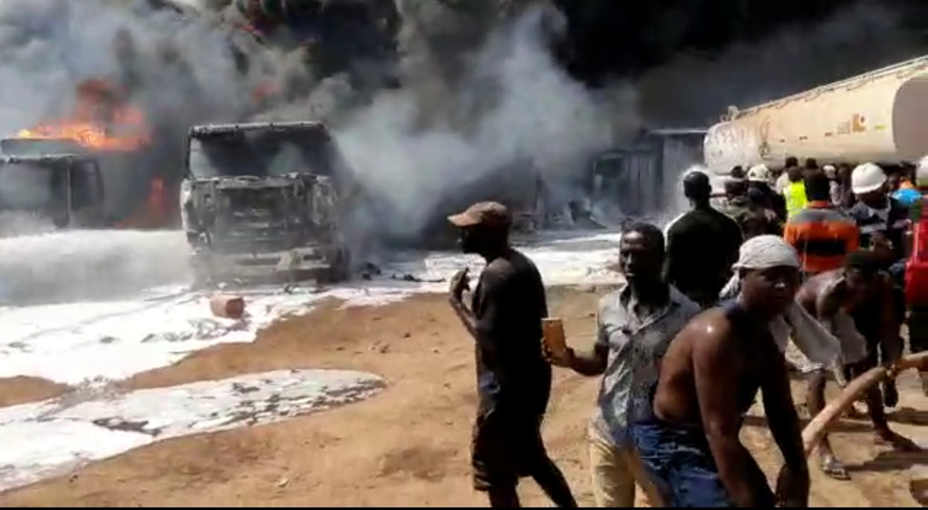 2-year-old dies from fuel tanker fire in Takoradi