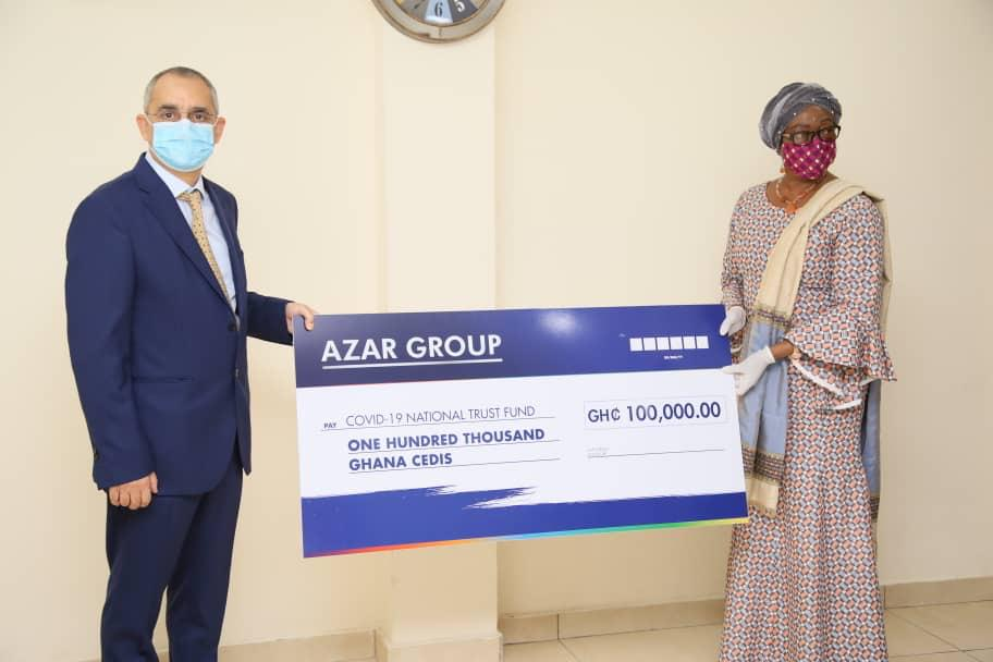 Covid-19 Trust Fund receives support from CIMG, Azar Group