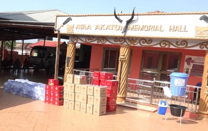 GPHA donates food items to Tema, Nungua and Kpone Traditional Councils