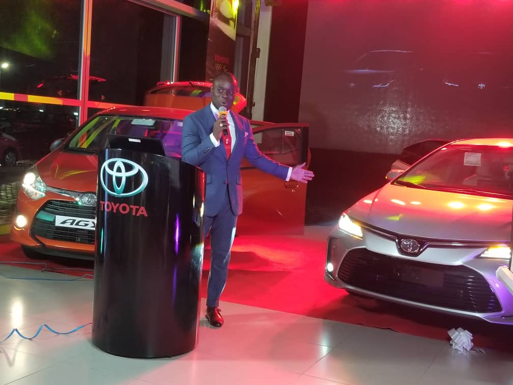 Toyota Ghana Unveils New Cars Touts 30 Share Ownership Of Automobile Industry Myjoyonline Com