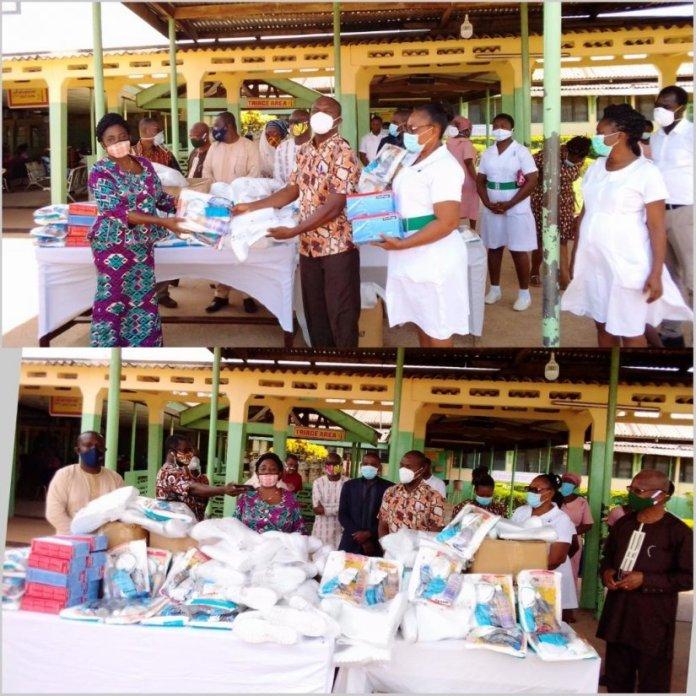 Mahama donates to Hohoe Municipal Hospital