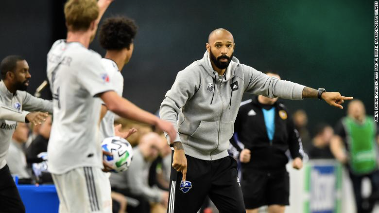 Thierry Henry and the coronavirus pandemic: Zoom calls, cleaning and how MLS 'has no limits'