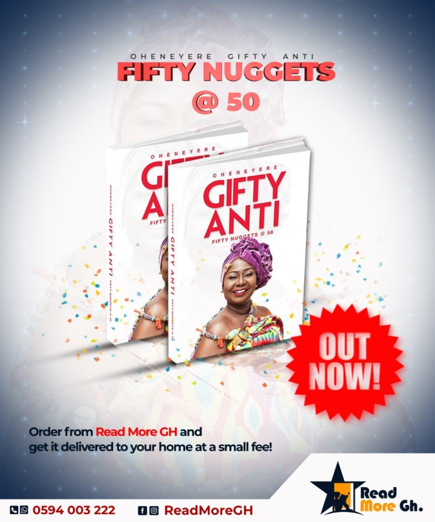 Gifty Anti launches new book '50 nuggets @ 50' on Joy Prime ...