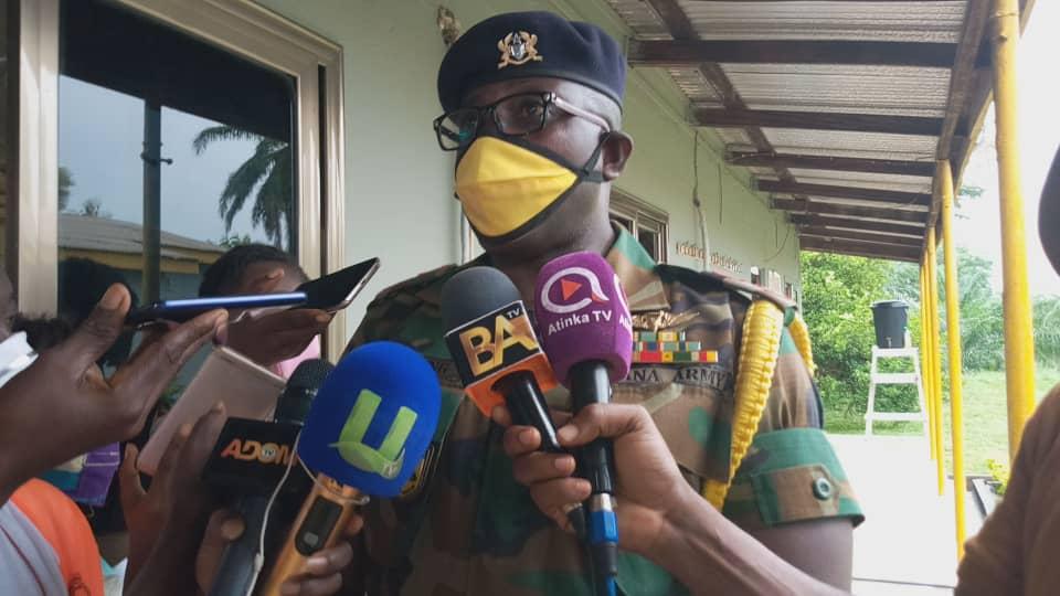 Zoomlion Ghana disinfects Sunyani military barracks