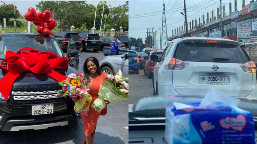 DVLA threatens to take action against those behind 'fake' registration number on Nana Aba Anamoah's Range Rover