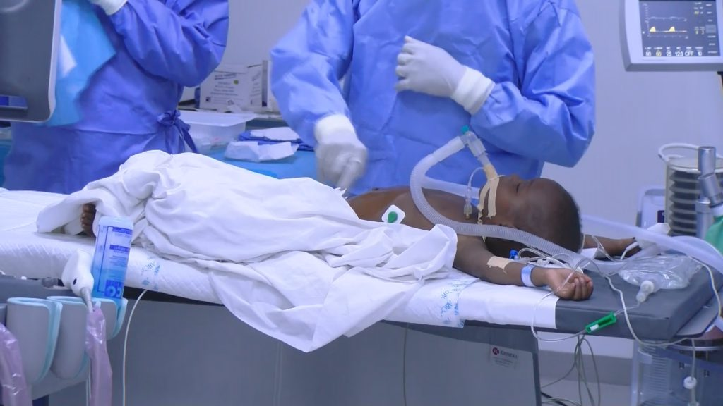 21-month old child undergoes successful surgery