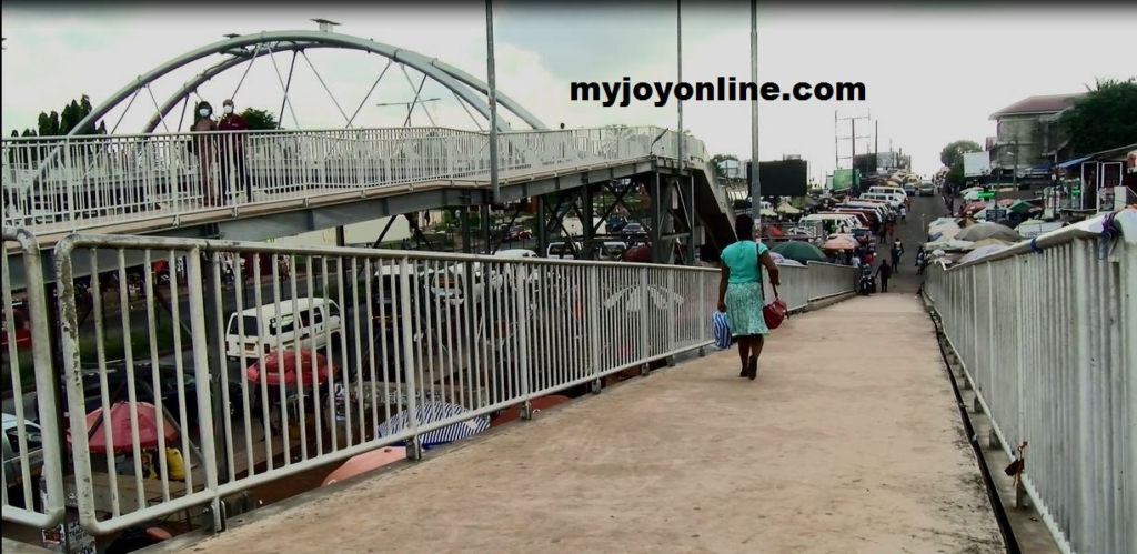 Tech Junction Footbridge myjoyonline.com