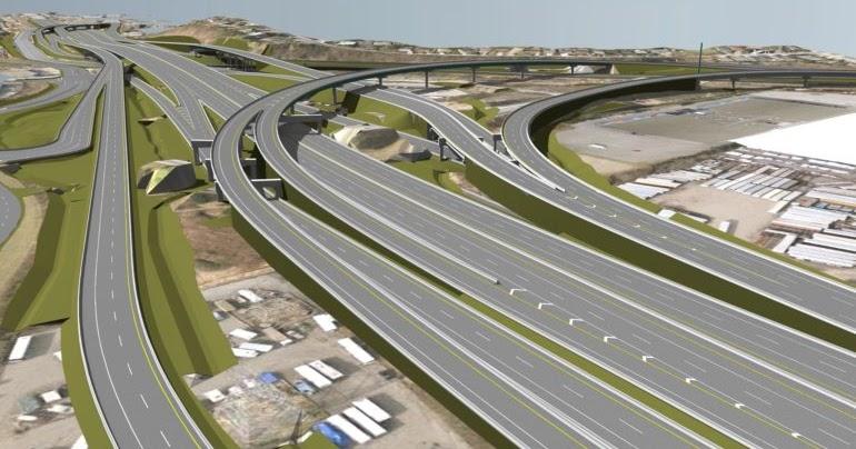 Fight over the Tema Motorway Interchange.