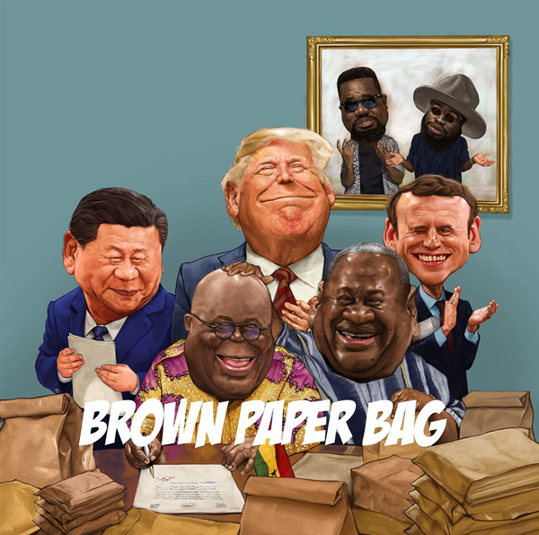 M.anifest and Sarkodie's Brown Paper Bag