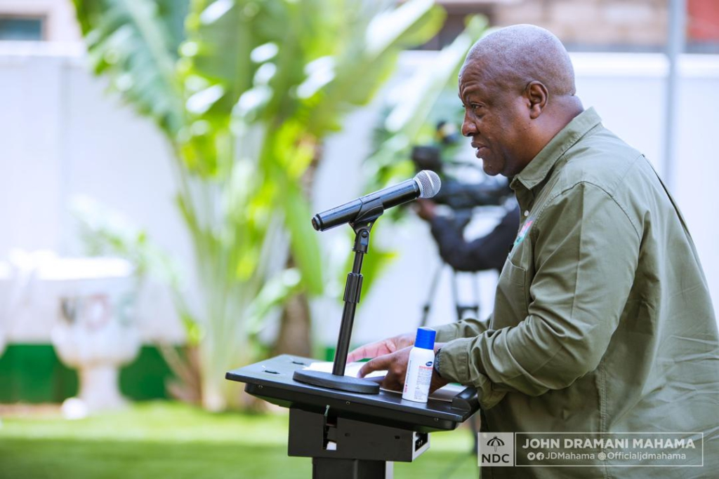 NDC won't accept the result of a flawed election – Mahama