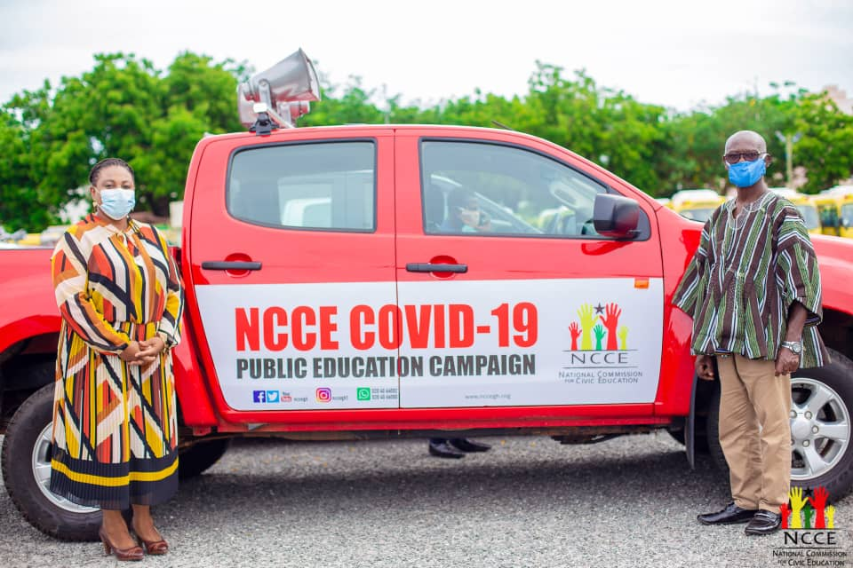 JUST IN: NCCE ordered to return vehicles donated by government for Covid-19 sensitisation 1