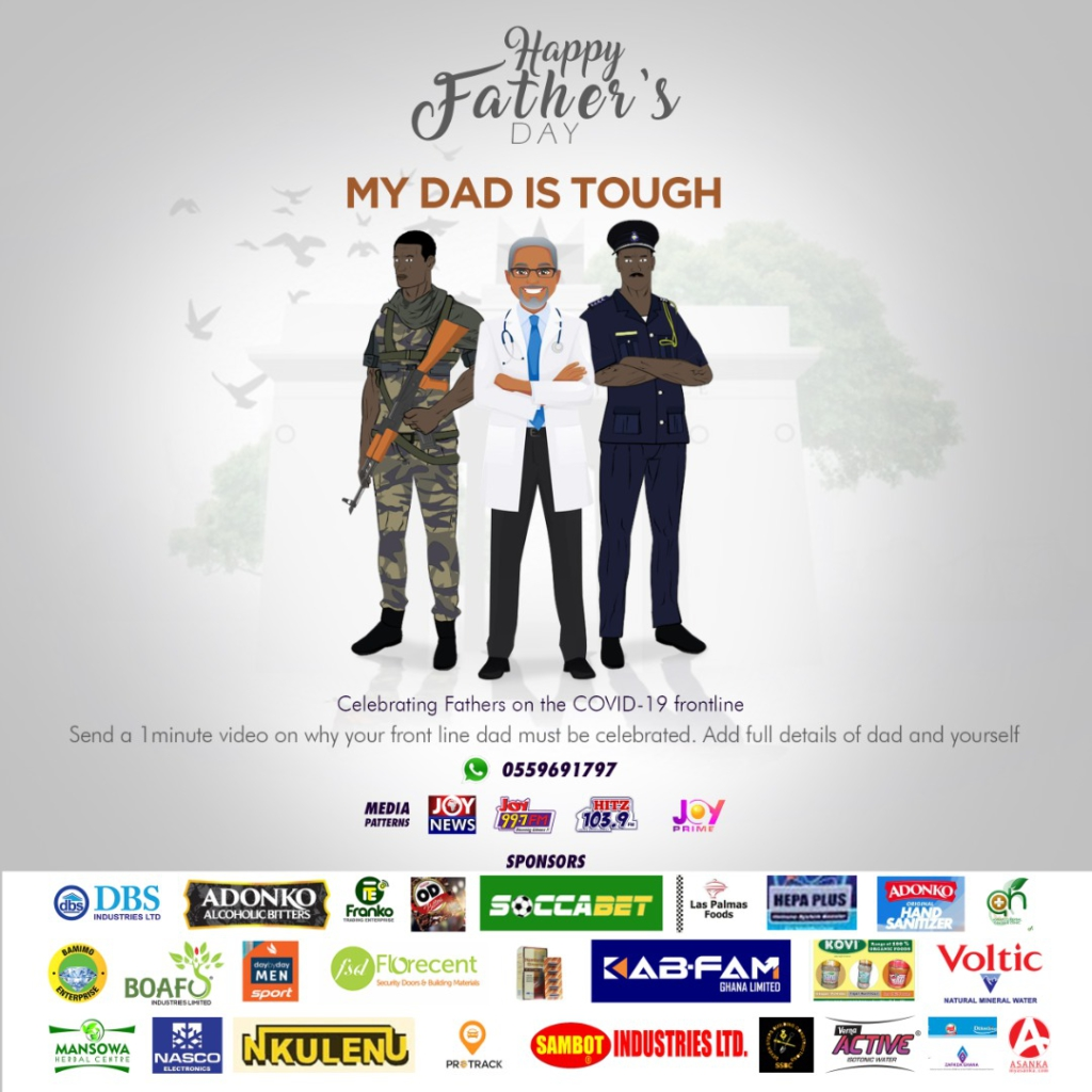My Dad is Tough Fathers day