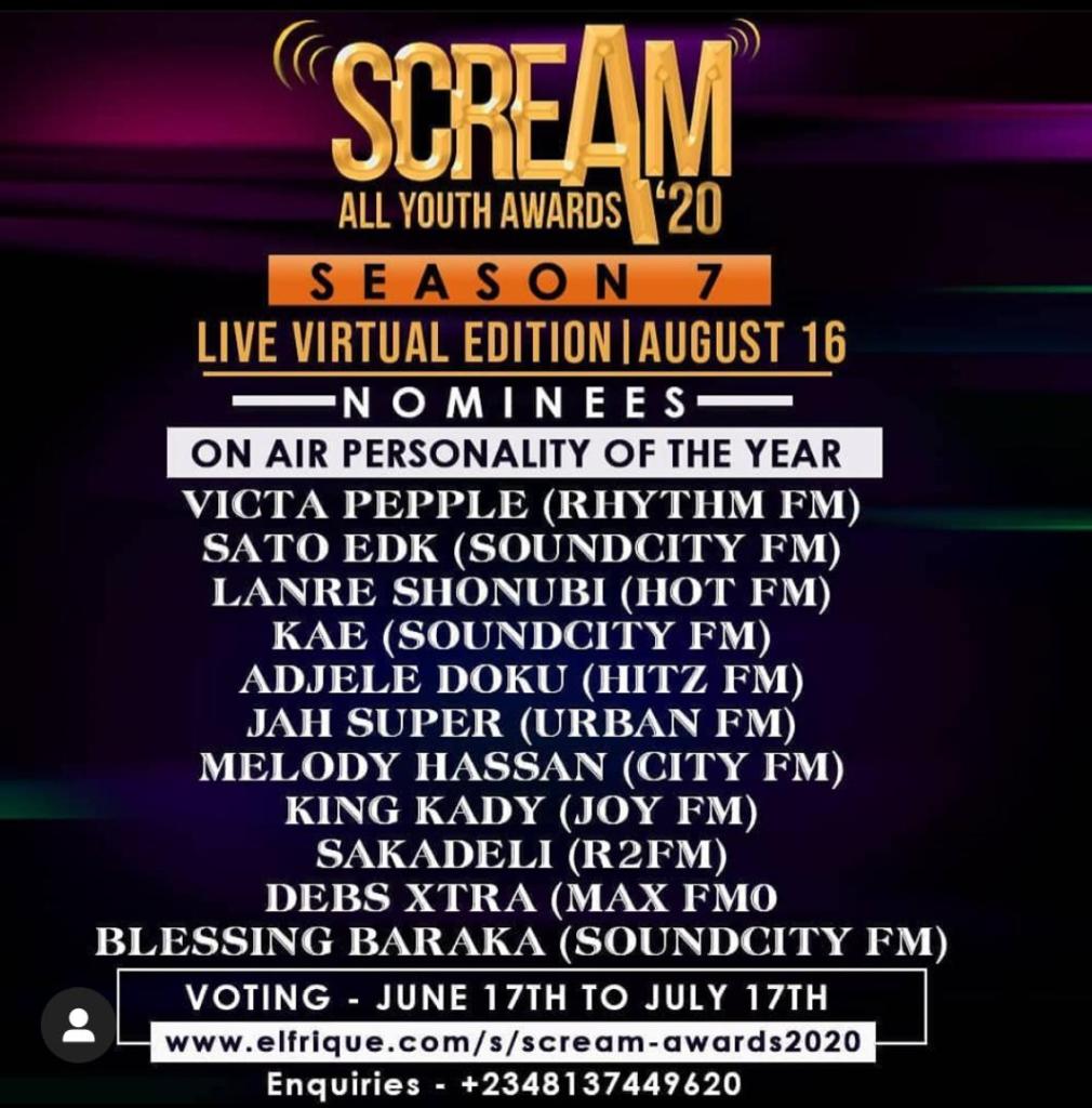 Scream Awards 2020