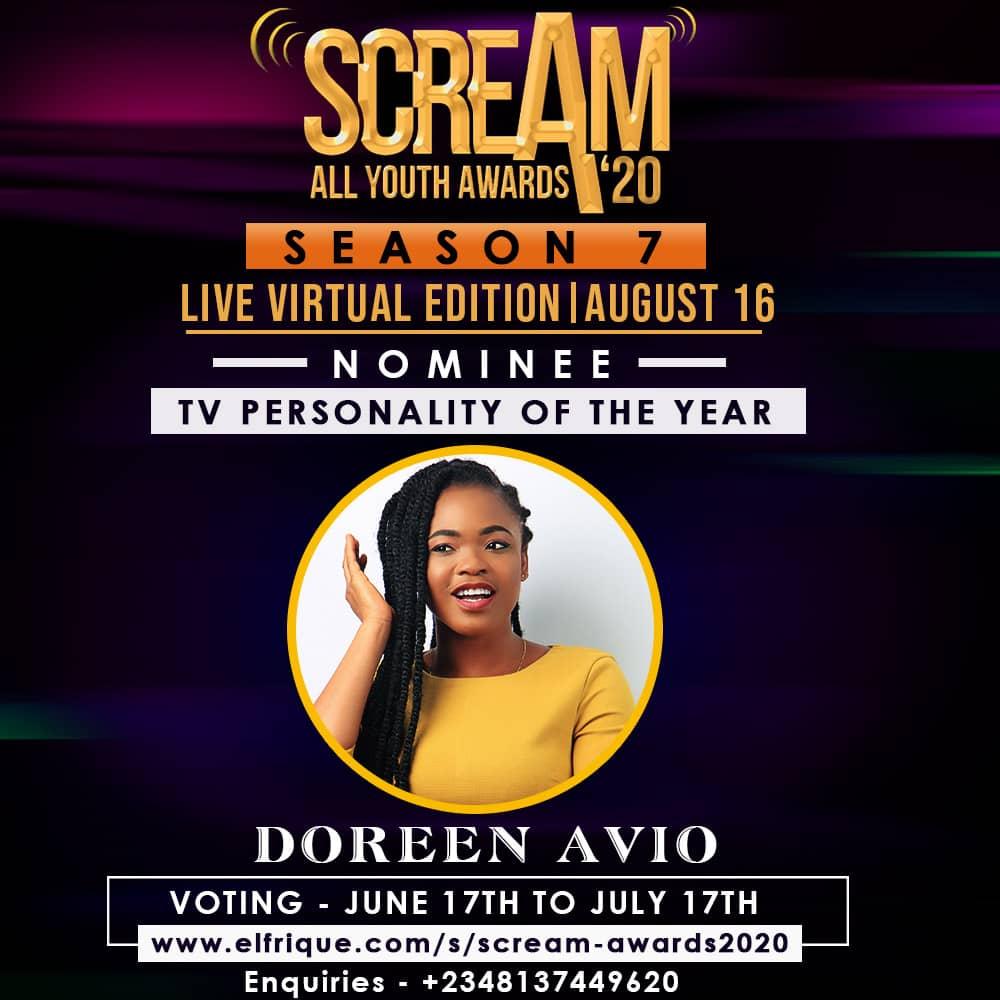 Scream Awards 2020 Doreen Avio