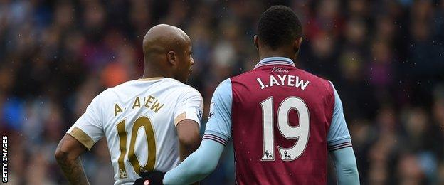 The new normal: Ayew brothers scoring on the same day