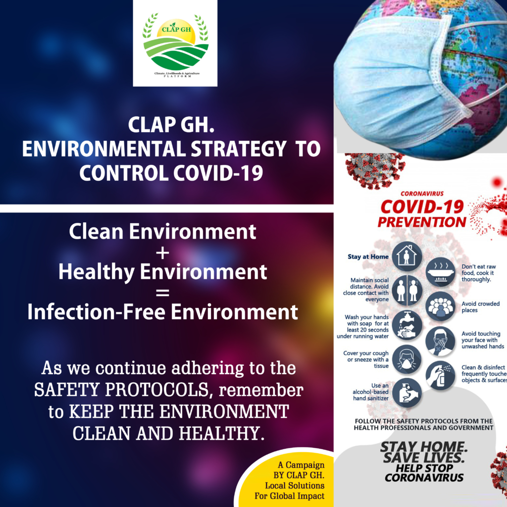 Environmental Group, CLAP GH advocates clean healthy environment for infection-free living