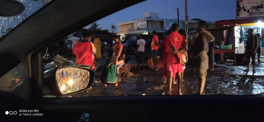 Parts of Accra flooded after early morning downpour