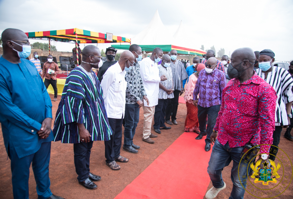 Akufo-Addo cuts sod for $223m Tamale water supply project