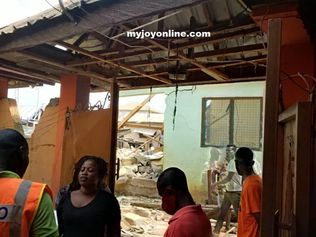 Akwaboso Gas Explosion www.myjoyonline.com