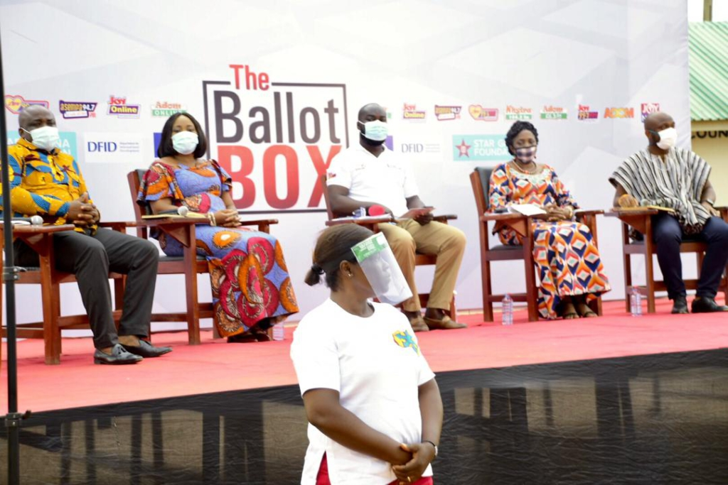 Joy Ballot Box - Hohoe