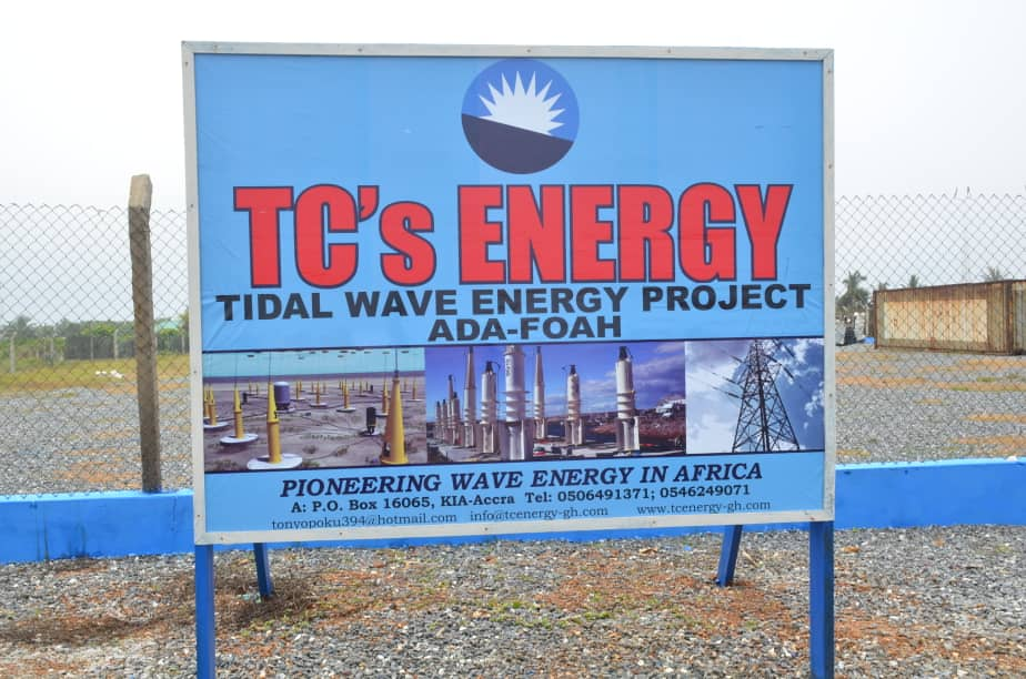 TC's Energy, Power China sign agreement to revive Ada Foah Wave Energy Project