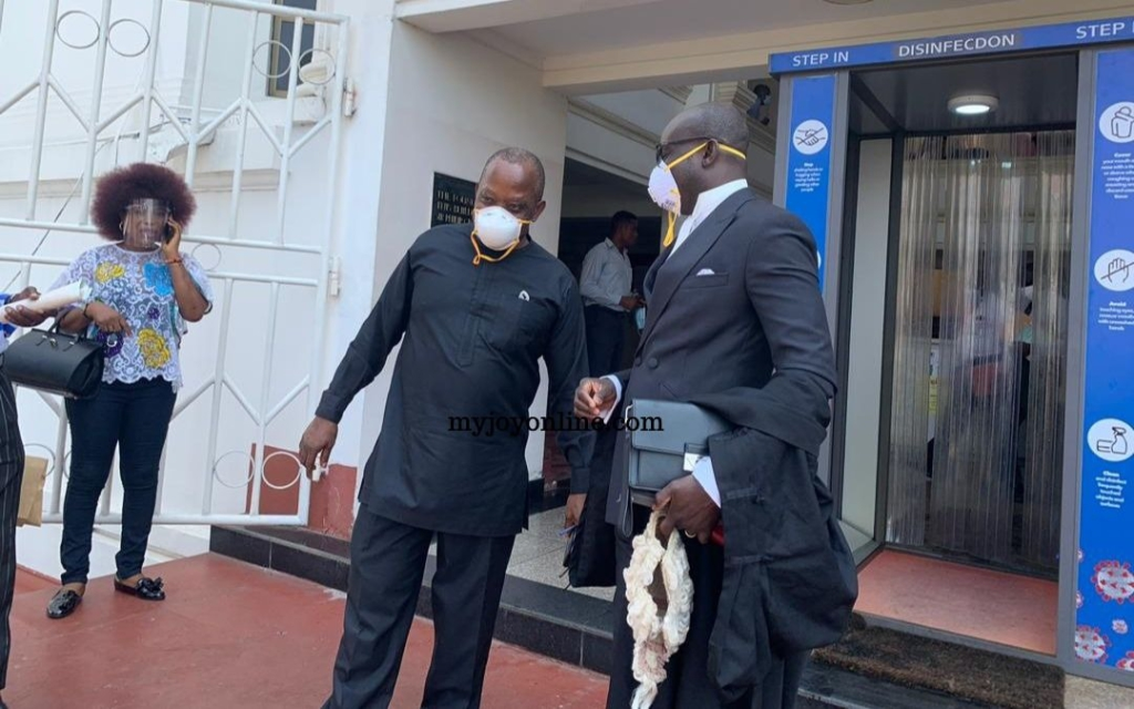 Supreme Court dismisses request to restrain Johnson Akuamoah Asiedu from acting as Auditor-General