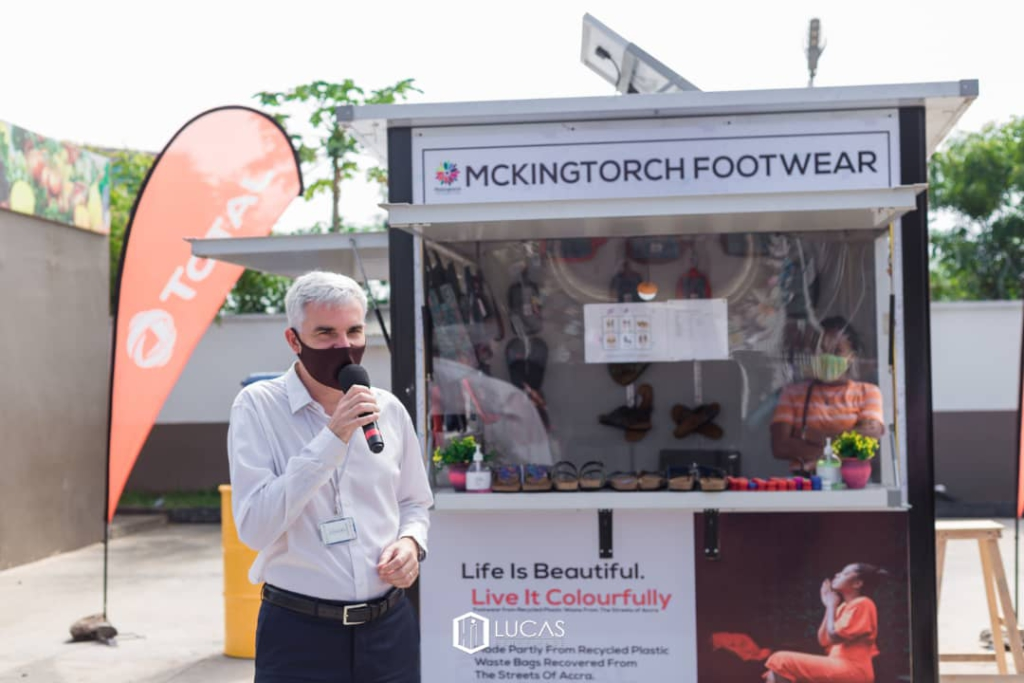 Mckingtorch Africa opens pop-up shop to create a convenient walk-in shopping experience for customers