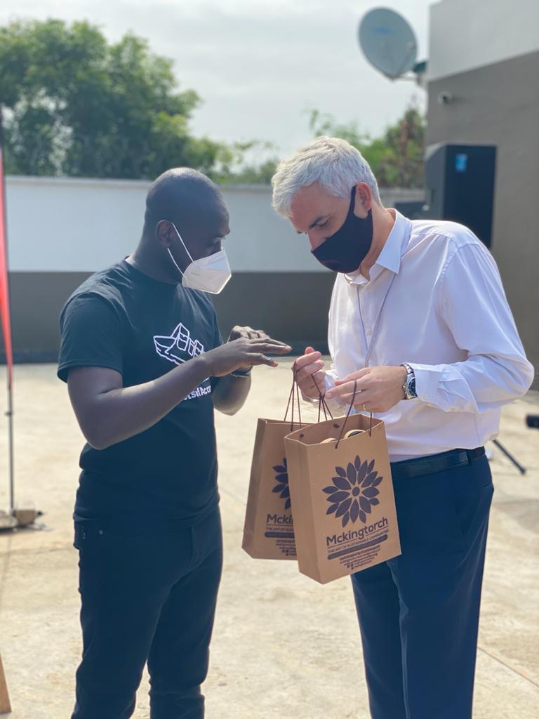 Photos: Mckingtorch Africa's opening of pop-up shop