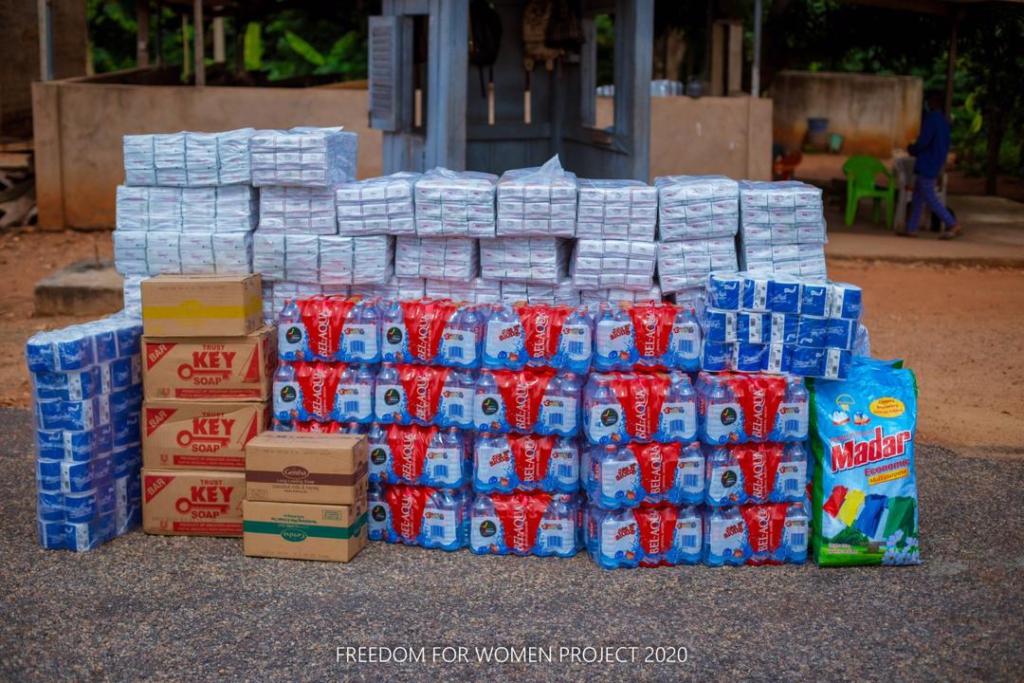 Mercy Heart Foundation donates to female inmates at Nsawam Prison