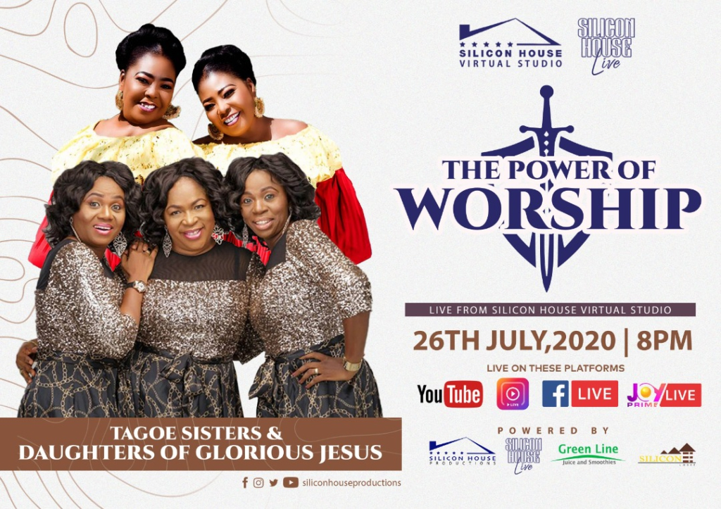 Power of Worship joins legendary acts: Tagoe Sisters and Daughters of Glorious Jesus in one performance