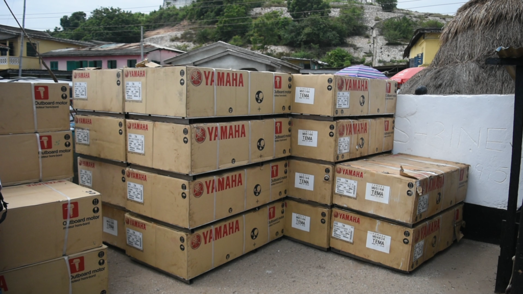 Fisheries Ministry distributes 300 outboard motors to fishermen in Central Region