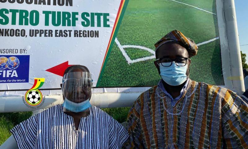 GFA secures land to construct astroturf at Bolgatanga