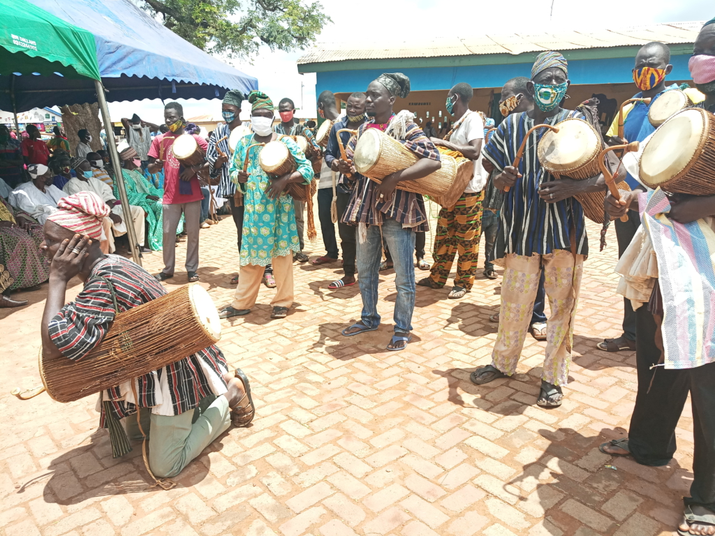 Mossi Chiefs at ancestral home