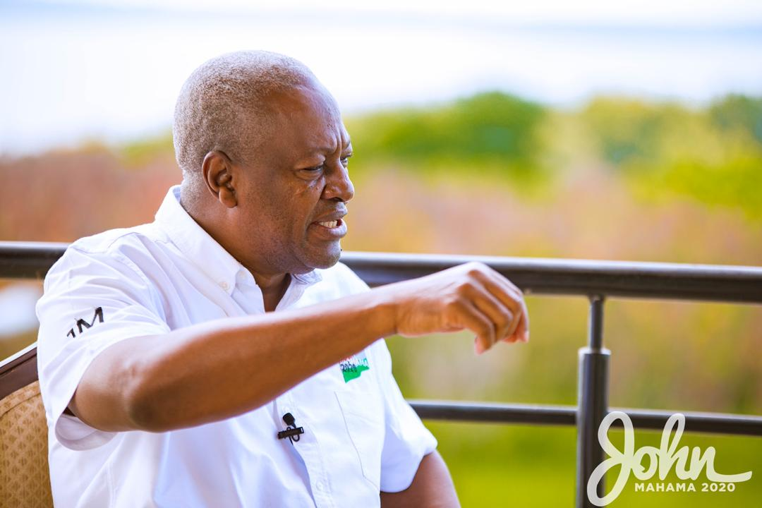 NPP working with our 'People's Manifesto' – Mahama
