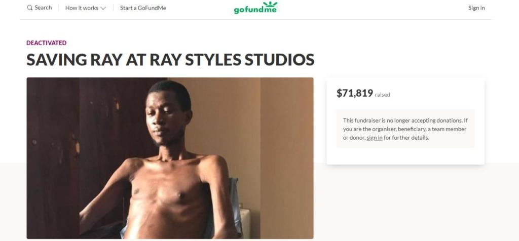 Penciled Celebrities artist, Ray Styles is dead