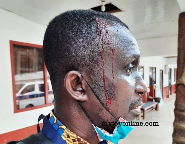 Bright SHS students assault school officials, Daily Graphic reporter over strict supervision during WASSCE