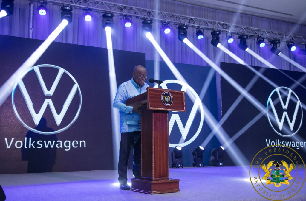 Playback: Akufo-Addo unveils first home-assembled VW car